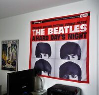 THE BEATLES A Hard Days Night HUGE 4x4 BANNER fabric poster tapestry album cd
