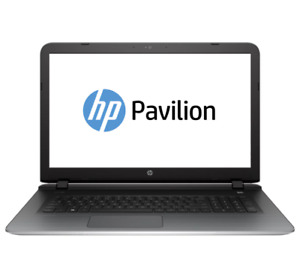 """17.3"""" HP Pavilion 17 Laptop Quad Core 2.4ghz 4GB RAM 750GB HDD Built-In Webcam"""