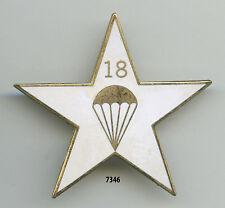 Insigne parachutiste , SES. / 18 Bon. d'Infanterie Parachutiste  , ( copie )