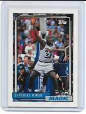 1992 Topps Shaquille O'Neal RC Rookie #362 Orlando Magic Base