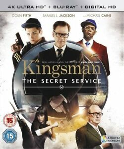Kingsman: The Secret Service 4K UHD + Blu-ray + Digital HD UK Stock NEW