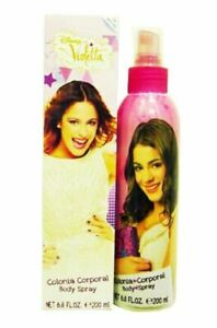 Disney Violetta Cologne Body Spray 6.8 oz for Girls