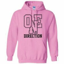 One Direction: Athletic Logo Pink Hoodie
