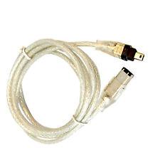 HQRP FireWire 4-6 Pin Cable for Panasonic PV-DV103, PV-DV200, PV-DV201 Camcorder