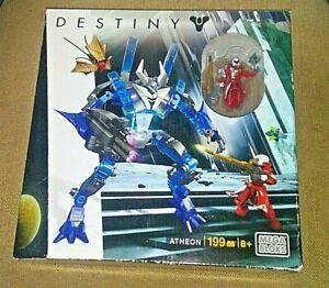 New Mega Bloks Destiny Atheon Construx Building Toy Action Figure>199 pc>Sealed