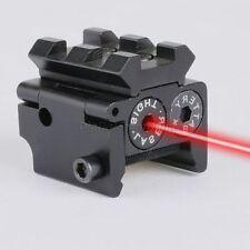Tactical Pistol Gun Rifle Red Laser Sight Scope 21mm Picatinny Weaver Rail Mount