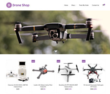 Established Drones Turnkey Website BUSINESS For Sale - Profitable DropShipping