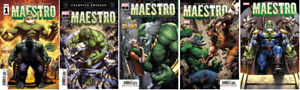 (2020) Incredible Hulk MAESTRO #1 2 3 4 5 complete set! #1-5! FUTURE IMPERFECT!