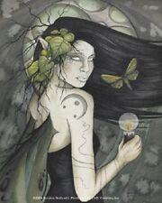 Jessica Galbreth Dark Enchantment Fairy Sticker Decal Faery Wicca Witch