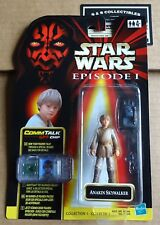 Star Wars Episode 1 Anakin Skywalker Figure MOC With Comm Talk Chip Hasbro 1998