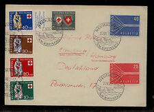 Switzerland  B263-66   on  cover            KL0226