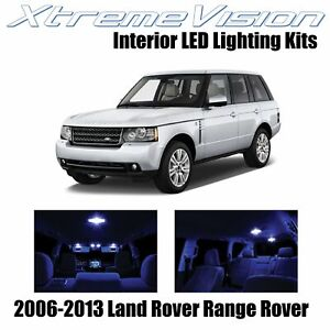 XtremeVision Interior LED for Land Rover Range Rover 06-13 (14 PCS) Blue