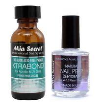 Mia Secret Nail Prep 0.5oz (NP-30) & Xtrabond Primer 1 oz (PR110)