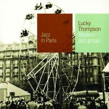 Lucky Thompson cd Modern Jazz Group (JAZZ IN PARIS) NEW Sealed 2000 Gitanes RARE