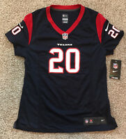 Ed Reed Houston Texans Women's Nike OnField/Game Jersey. New w/Tags. Size Medium