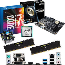 Intel Core i7 6700k 4.0ghz & Asus z170-p & 8gb ddr4 3200 Corsair Bundle