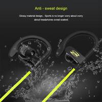 Sweatproof Bluetooth Headphone Wireless Bass Earphone Sport Running Headset Mic