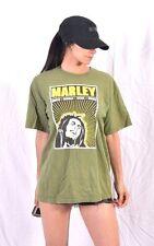 Vintage Bob Marley T-Shirt Zion Roots Raggae Rebel Music - M