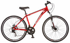Schwinn 700C Unisex GTX 2 Cross-Commuter Bike Bicycle - Red
