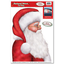 BACKSEAT SANTA CLING by Beistle Company 22112