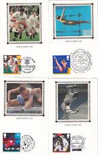 (20770) CLEARANCE GB Benham FDC Sport Postcard set 11 June 1991