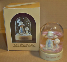 """Precious Moments Flower Dome """"To A Special Dad"""" 1984"""