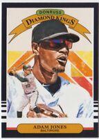 ADAM JONES 2019 DONRUSS Baseball * DIAMOND KINGS * #5 ORIOLES