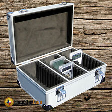Aluminum Storage & Display Box Case Holds 30 PCGS NGC ANACS Coin Holders Slabs