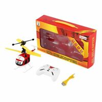 Induction Flying Toys RC Helicopter Cartoon Remote Control Drone Kid Plane Toy B