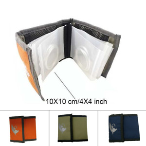 Aventik High Grade10 Clear Pocket Leader Wallet Green Size 4X4 inch/10X10cm For