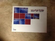 Sorry About Dresden Promo Poster 24x18apx vintage music .