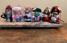 Steinbach Nutcracker Characters Sugarplum Fairy, Mouse King Lot Of 6