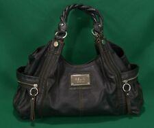 e03a8aeff69f Relic Brand Collection Handbag Black Faux Big Bag Hobo Zippers Shoulder  Purse