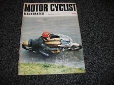 VINTAGE MOTOR CYCLIST ILLUSTRATED MAGAZINE - April 1969