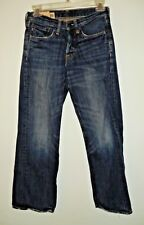 WOMENS/GIRLS??? ABERCROMBIE & FITCH JEANS SIZE 10 W26/L26 100% COTTON BUTTON FLY