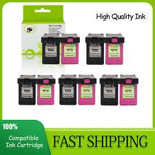 Combo Black & Color Ink Cartridge 65XL 63XL 62XL 61XL 60XL  Fit For HP Printer