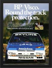 """1986 NISSAN SKYLINE DR30 BP VISCO A3 FRAMED PHOTOGRAPHIC PRINT 15.7""""x11.8"""""""