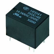 24V Subminiature PCB Signal Relay 1A SPDT HFD41