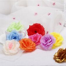 10 Pcs Artificial Flowers Silk Rose Floral Bouquet Wedding Home Party Decor
