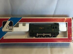Lima Shunter  British Rail Green #3004. with box. Poss spares or repair motor ok