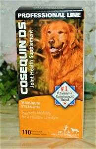 Cosequin DS 110 Tablets Joint Health Supplement Dogs SEALED BOX x 4/2024