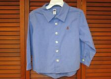 Blue Long-Sleeved Baby Gap Boy's Shirt Size 3 Years
