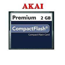 AKAI MPC5000 MPC 5000 CF 2GB 2 GIG compact flash card memory huge soundlibrary