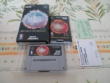 >> NBA JAM TOURNAMENT EDITION SFC SUPER FAMICOM JAPAN COMPLETE IN BOX! <<