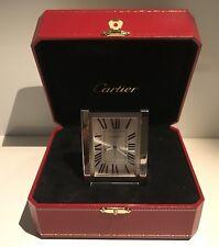 CARTIER W0100086 Orologio da tavolo Sveglia Pendulette Alarm Desk Clock Tank