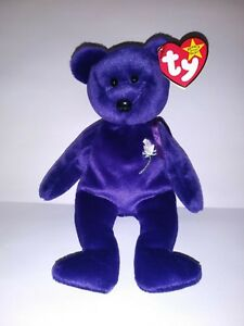 """Ty Beanie Baby """"Princess"""" Diana Retired 1997 Excellent condition w/ Hang Tag."""