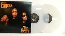 Fugees Lauryn Hill Pras Michel Wyclef Jean - The Score White Swirl 2x Vinyl LP