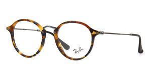 RB Optics Eyeglasses * Round Fleck RB2447V-5492 Blue Tortoise Frames