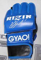 Fedor Emelianenko Signed Rizin FF 2015 MMA Fight Glove BAS Beckett COA Autograph