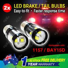 2PCS 12V 60W LED BAY15D 1157 Car Caravan Boat Brake Tail Signal Light Bulb